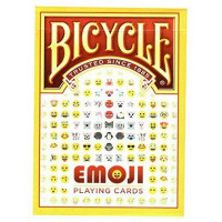 Карты Bicycle Emoji 1037675