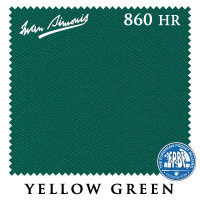 Сукно Iwan Simonis 860 198см HR Yellow Green 60М